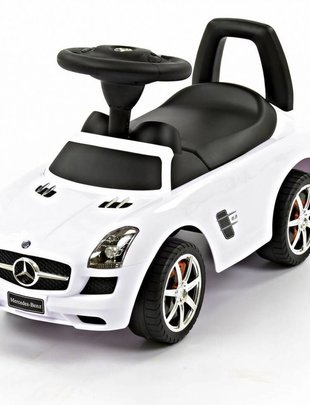 Happy-Car Happy-Car Loopauto Mercedes SLS White