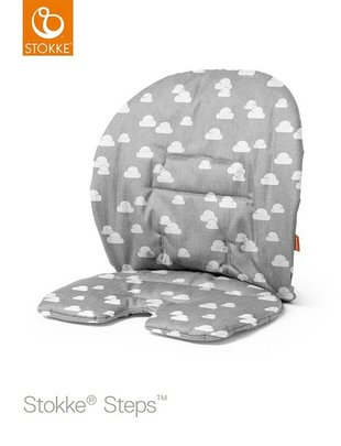 Stokke Stokke Steps Baby Set Kussen Grey Clouds