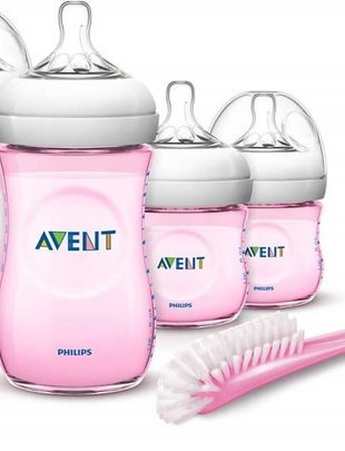 Avent Avent Natural Starterskit Pink