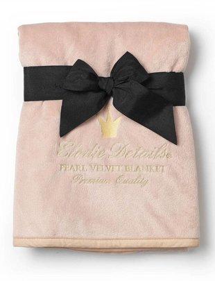 Elodie Elodie Deken Pearl Velvet Powder Pink