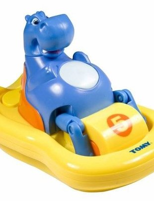 Tomy Tomy Hippo Pedalo Badspeeltje