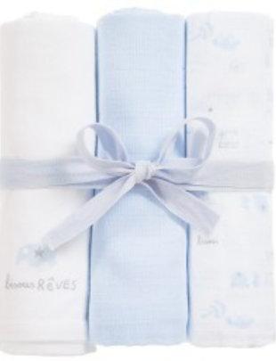 Absorba Absorba tetradoeken blauw/wit