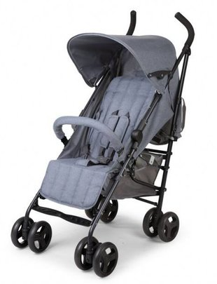 Childhome Childhome Buggy Canvas Grijs