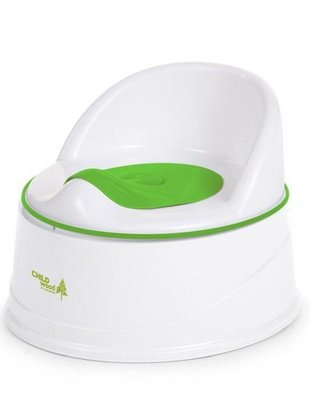 Childhome Childhome Potty + step 3 in 1 Groen en Wit