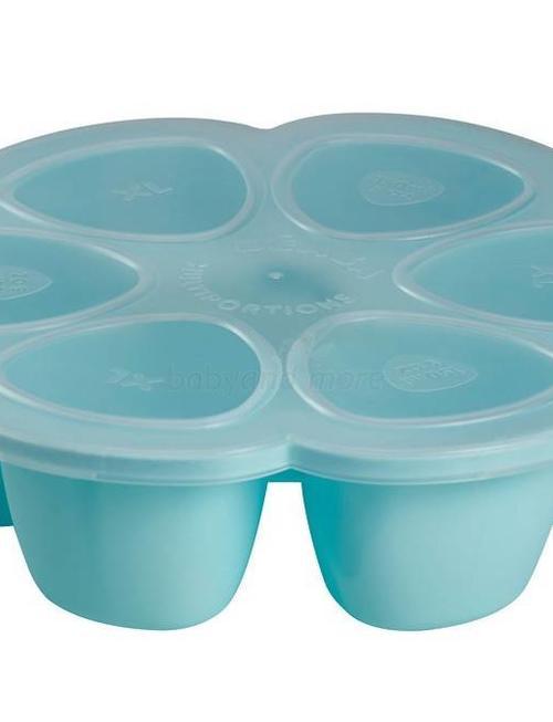 Béaba Beaba Multiportie Blauw  6 x 90 ml