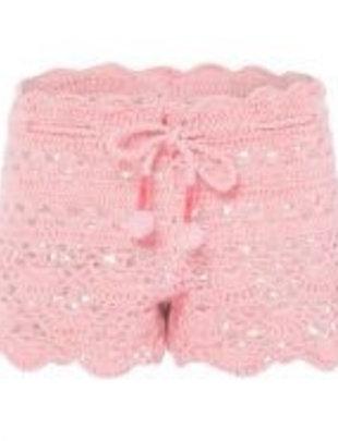 Sunuva swimwear Sunuva Short Crochet Pink 3-4 A