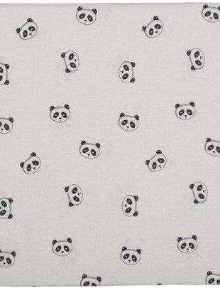 Plum Plum Plum Plum Laken Wieg Panda 100x 80