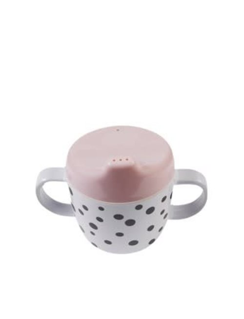 Done by Deer Done by Deer Cup 2-Handle Spout Cup Happy Dots Powder