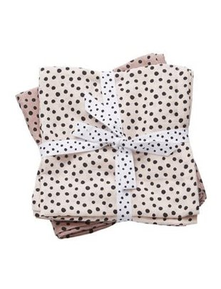 Done by Deer Done by Deer Swaddle 2-Pack Happy Dots Powder