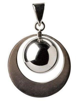 Bola Zwangerschapsbelletje Ring Zilver
