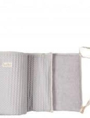 Koeka Koeka Box/Bedbumper Amsterdam Silver Grey