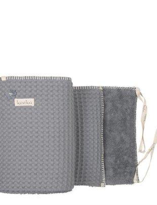 Koeka Koeka Box/Bedbumper Amsterdam Steel Grey