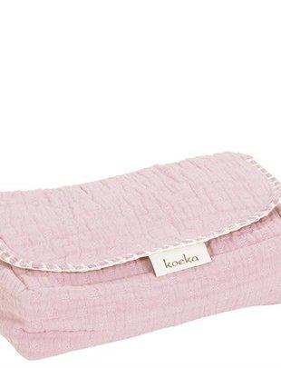 Koeka Koeka Hoes Voor Babydoekjes Elba Water Pink