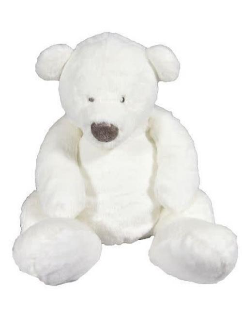 Dimpel Dimpel Witte Knuffelbeer Esteban 30 cm