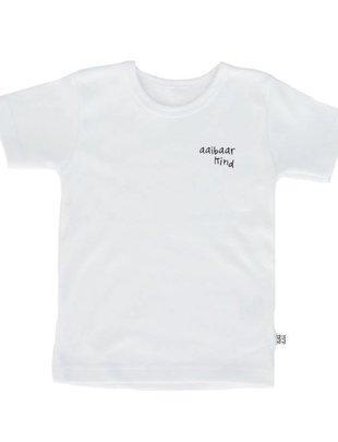 Aai Aai Aai Aai T-Shirt Aaibaar Kind Wit