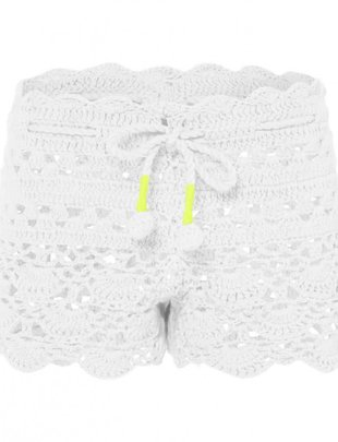 Sunuva swimwear Sunuva Short Crochet White