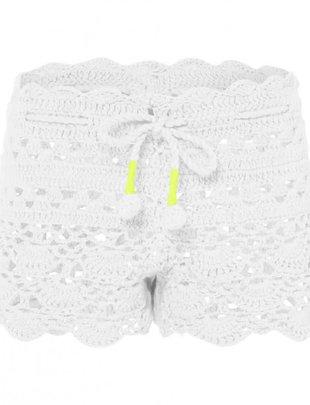 Sunuva swimwear Sunuva Short Crochet White