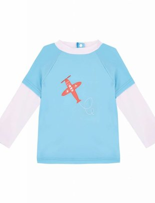 Sunuva swimwear Sunuva UV Shirt Airplane