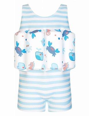 Sunuva swimwear Sunuva Badpak Met Drijfblokjes Sea Patchwork