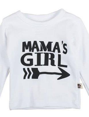 Wooden Buttons Wooden Buttons T-shirt Mama's Girl
