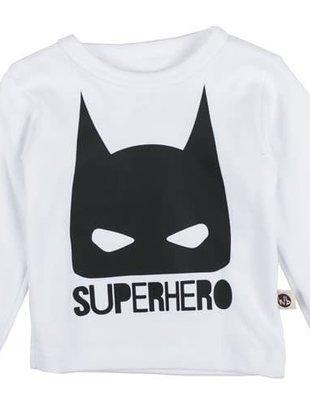 Wooden Buttons Wooden Buttons T-shirt Superhero