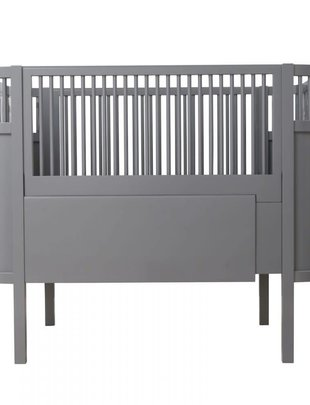 Sebra Bed Dark Grey