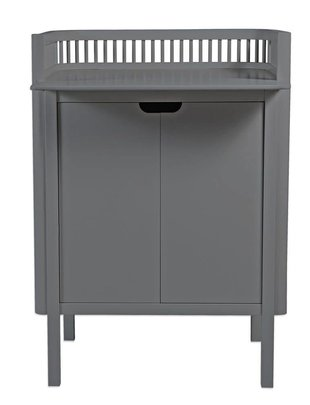 Sebra Commode Dark Grey