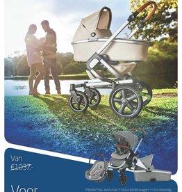Maxi Cosi Maxi-Cosi Nova 4 + Pebble Plus Autostoel + Oria Reiswieg Sparkling Grey