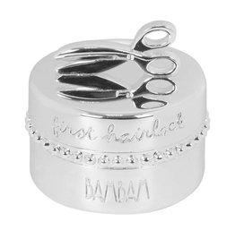 Bambam Bambam Zilveren Potje Voor Haarlokje
