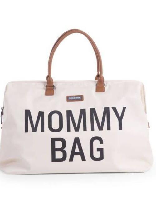 Childhome Childhome Mommy Bag Verzorgingstas - Ecru/Zwart