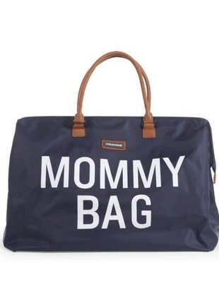 Childhome Childhome Mommy Bag Marine Blauw