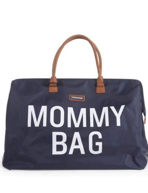Childhome Childhome Mommy Bag Verzorgingstas - Navy Wit