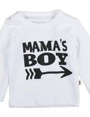 Wooden Buttons Wooden Buttons T-shirt Mama's Boy