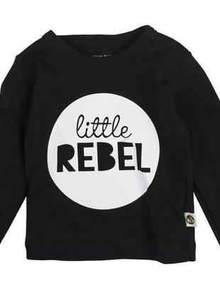 Wooden Buttons Wooden Buttons T-shirt Little Rebel