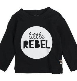 Wooden Buttons Wooden Buttons T-shirt Littel Rebel