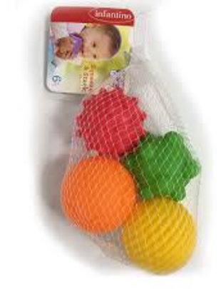 Infantino Infantino Badspeeltjes Multi Ball (4 stuks)