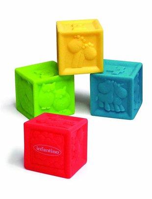 Infantino Infantino Badspeeltjes Discovery Blocks