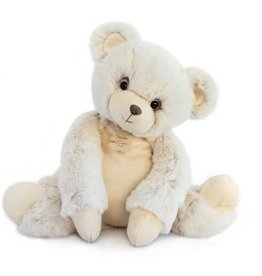 Histoire d'Ours Histoire D'ours Teddybeer Wit 45 cm