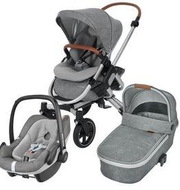 Maxi Cosi Maxi Cosi Nova 4 Pack + Oria Reiswieg +  Pebble Autostoel Nomad Grey