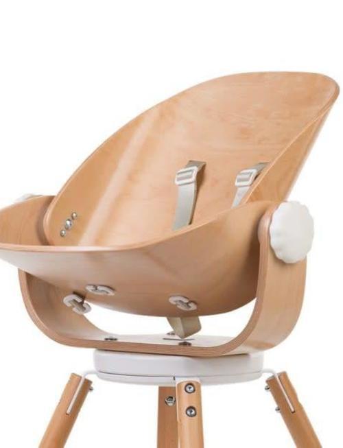 Childhome Childhome Newborn Seat Naturel/Wit voor Evolu 80°