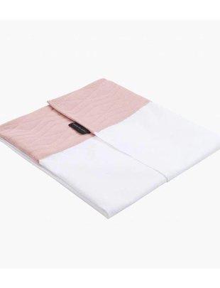 House of Jamie Wieg/Boxlaken Jacquard Powder Pink 80 X 100 cm