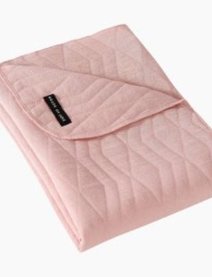 House of Jamie House of Jamie Dekentje Wieg Jacquard Powder Pink 80 x 100 cm