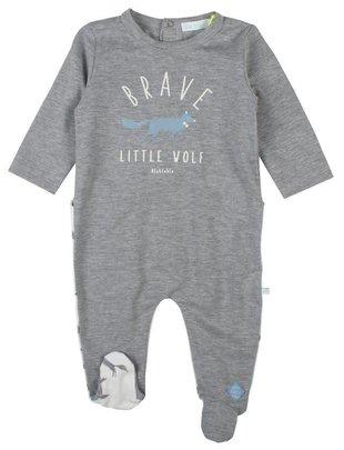 Bla Bla Bla Bla Bla Bla Pyjama Brave Little Wolf