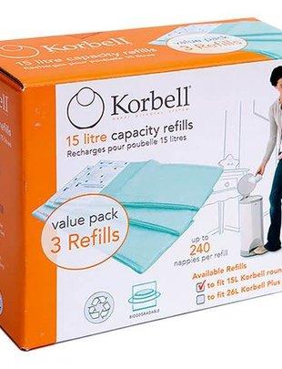 Korbell Korbell Navulcassettes - 3 refills