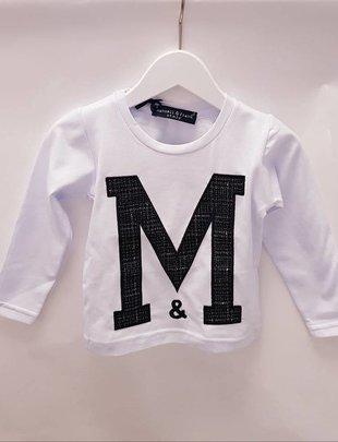 Manuell & Frank Manuell & Frank T-shirt Bianco