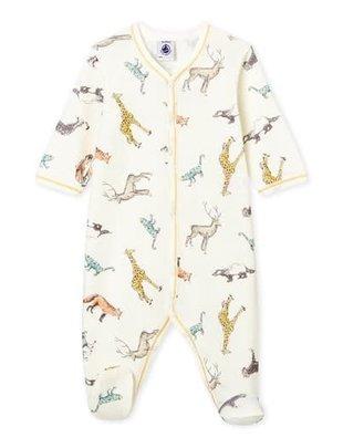 Petit Bateau Petit Bateau Pyjama Met Dierendessin