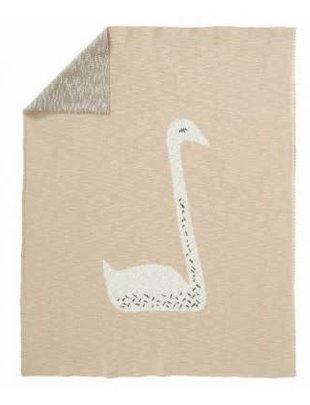 Fresk Fresk Deken Swan Peach 80 x 100 cm