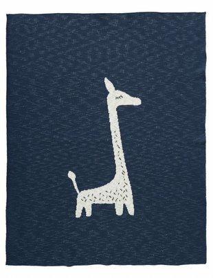 Fresk Deken Giraf Indigo 100 x 150 cm