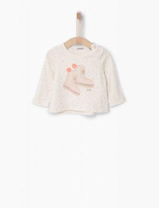 IKKS IKKS T-Shirt Lange Mouw Le Blanc Nord