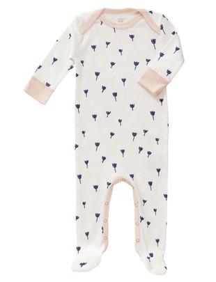 Fresk Fresk Pyjama met voet Tulip Indigo Blue